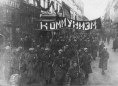 Демонстрация солдат в Москве, декабрь 1917