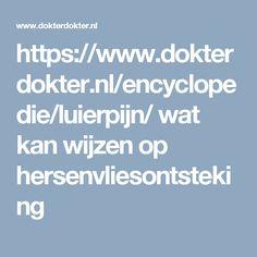 https://www.dokterdokter.nl/encyclopedie/luierpijn/   wat kan wijzen op hersenvliesontsteking