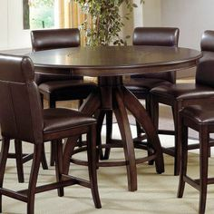 Northern Heights Five Piece Counter Height Dining Room Set | Kitchen Ideas  | Pinterest | Dining Room Sets, Room Set And Memory Foam