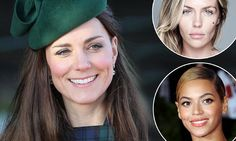 Princess Kate crowned top beauty icon of 2013: Princess Kate beats Abbey Clancy and Beyonce to claim title for third year running