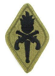 NSN: 8455-01-647-8930 (UNIT PATCH, US ARMY MILITARY POLICE (MP) SCHOOL, MULTICAM / OCP) - ArmyProperty.com
