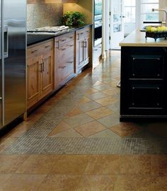 Ordinaire Kitchen Floor Tile Patern Designs