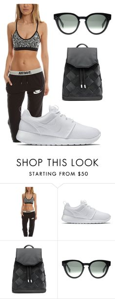 """""""Gym Fit"""" by blueandcream ❤ liked on Polyvore featuring NIKE, rag & bone and CÉLINE"""