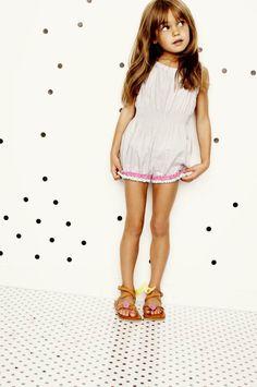 Bangs and jumpsuits for little girls! #designerkids #littlefashionistas…