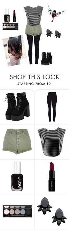 """Cool and chic"" by ariannabermudez ❤ liked on Polyvore featuring River Island, Essie, Smashbox, Witchery, Persy, women's clothing, women, female, woman and misses"