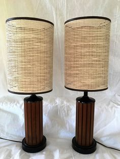 Mid Century Lamp Shades Gorgeous Mid Century Lampsi Relly Like The Shades  Mcm  Pinterest  Mid Decorating Design