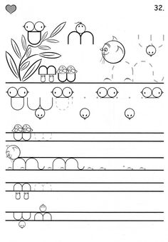อัลบั้ม - Google+ Tracing Worksheets, Kindergarten Worksheets, Motor Activities, Activities For Kids, Pre Writing, Activity Games, 4 Kids, Fine Motor Skills, Coloring Pages For Kids