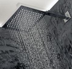 Rain shower heads, awesome!