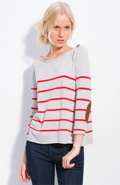autumn cashmere Stripe Sweater