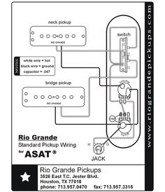 Wiring Diagram Electric Guitar Wiring Diagrams and Schematics