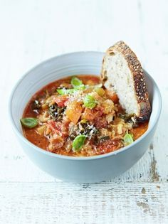Minestrone Soup | Food Revolution | Jamie Oliver