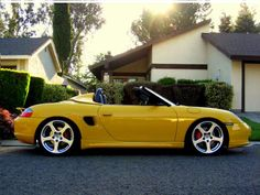 lowered Boxster