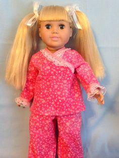 American Girl doll or any 18 inch doll. 3 by CuteAsPieCreations, $12.00