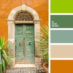 алый, апельсиновый, желтый и зеленый, зеленый и желтый, зеленый и красный…