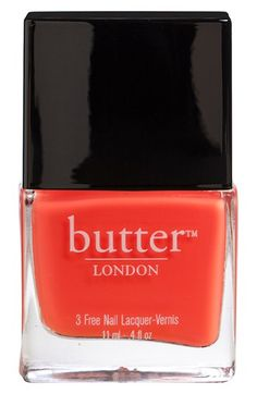 Pretty Painted Fingers &Toes Nai Polish| Serafini Amelia| butter LONDON Nail Lacquer available at #Nordstrom
