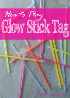Outdoor birthday games for teens glow sticks 34 trendy Ideas Glow Stick Games, Glow Stick Crafts, Glow Crafts, Glow Stick Party, Glow Sticks, Kids Crafts, Princess Party Games, Teen Party Games, Games