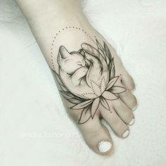 #cat #tattos #tatuagens #gatos