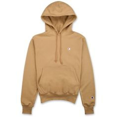 Champion Reverse Weave Hoodie | DTLR.com ($40) ❤ liked on Polyvore featuring tops, hoodies, fleece lined hooded sweatshirt, hoodie top, fleece lined hoodies, champion hoodies and low top