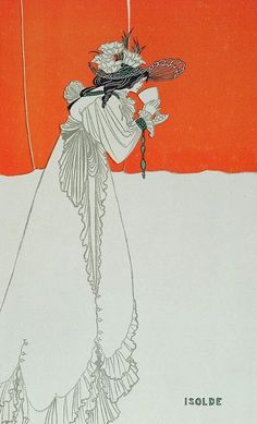 Le Prince Lointain: Aubrey Beardsley (1872-1898), Isolde - Studio Maga...