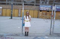 My Lovely World - Fashion Blog   white and brown outfit   http://mylovelyworld9.com
