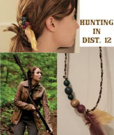 Aprons & Ambition: DIY Hunger Games Accessories {hunting in district 12}