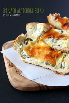 Spinach Artichoke Bread
