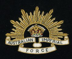 AUSTRALIAN IMPERIAL FORCE  #badges #blazer #army #patches https://www.welldonebadges.com/