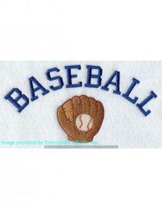 Stickbild Baseball
