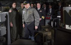 (via Trump Promises Great Rebuilding of Military Aboard Over-Budget Ship - Bloomberg)
