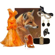 """she fox carnival"" by irinat-74 on Polyvore"