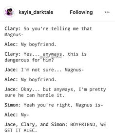 He's so goddamn proud 😂 protect him Shadowhunters Series, Shadowhunters The Mortal Instruments, Insurgent Quotes, Divergent Quotes, Clary And Jace, Clary Fray, Shadow Hunters Cast, Immortal Instruments, Divergent Funny