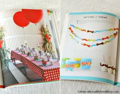 Sneak Peek: Stylish Kids' Parties book by Kelly Lyden #stylishkidsparties #whhostess