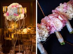 Gorgeous Pink and Gold Wedding
