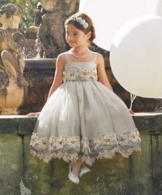 girls heirloom rosette dress