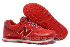 5bb9c2e175366 Discount Buy New Balance 574 Cheap Snake Trainers Red Womens Shoes