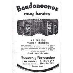 #1922 #argentina #buenosaires #vintage #ads #freelance #diseñoweb #tango