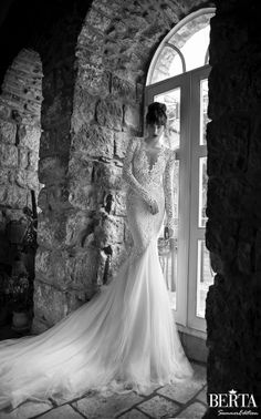 AMORE (Beauty + Fashion): ❣ WEDDING BELL WEDNESDAY ❣- BERTA Bridal Summer 2015 Collection [Part 2]