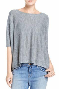 J Brand, Ingrid Cashmere Sweater, grey heather, Ready To Wear : Sweaters, JW51SW8829