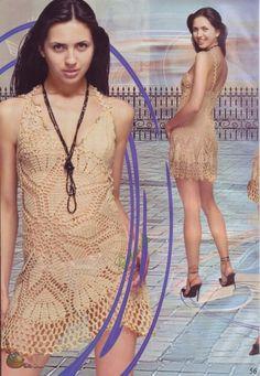 Салфеточные платья (платья -на основе салфетки).   Волшебный паучок +