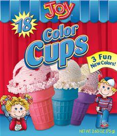 Joy Cake Cone Kids Bowls