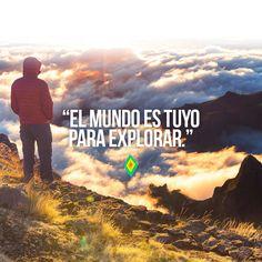 El mundo es tuyo para explorar