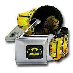 Batman Utility Belt Seatbelt Belt @ niftywarehouse.com