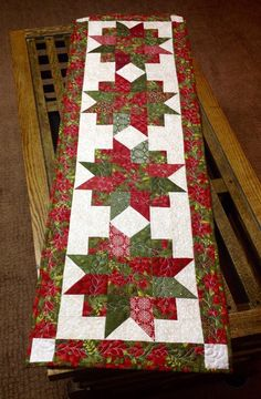 Table runner. More
