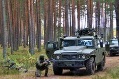 Russische Soldaten bei einer Übung: Der 2008 begonnene Umbau ist laut...