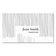 Cute Haircut Hairdresser/Hairstylist Business Card
