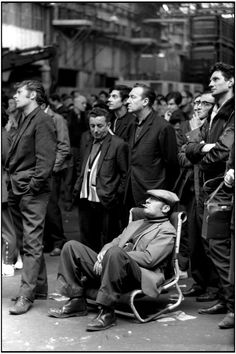 """Rue de Vaugirard"" 1968. © Henri Cartier-Bresson / Magnum Photos"