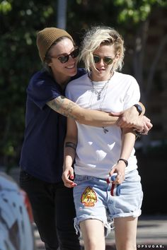 Pin for Later: Kristen Stewart Gets Close With Alicia Cargile During an LA Lunch Date