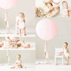 Baby First Birthday Pictures Color Schemes 69 Ideas For 2019 Baby First Birthday Pictures Color Schemes 69 Ideas For 2019 Simple First Birthday, Baby Girl 1st Birthday, First Birthday Balloons, Smash Cake Girl, Birthday Cake Smash, Smash Cakes, 1 Year Old Birthday Cake, Birthday Ideas, Cake Smash Photos
