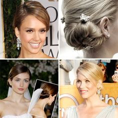 A Real Bride's Hunt for the Perfect Wedding Hairstyle (Click through to see the final product!)