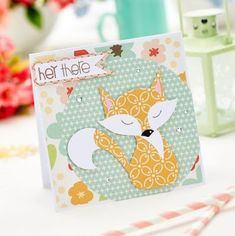 Paper Pieced Fox Card - Free Craft Project – Card Making Crafts Beautiful, Autumn Crafts, Cute Fox, Scrapbook Paper Crafts, Scrapbooking, Christmas Cards To Make, Cool Cards, Homemade Cards, Making Ideas